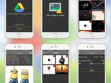 LAR Uploader - An iphone application