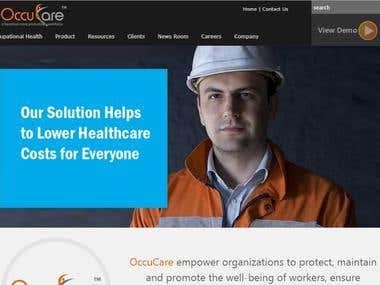 ASP.NET MVC WEBSITE FOR OCCUPATIONAL HEALTHCARE MANAGEMENT