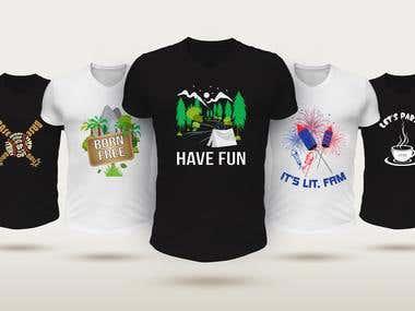 Few T-shirt Designs