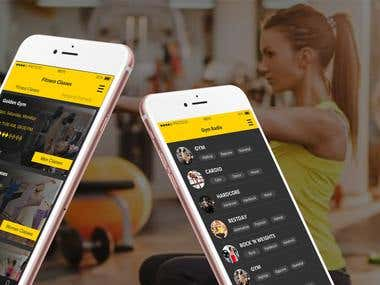 Muscle Fitness Club Mobile APP