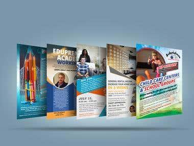 Flyer, Poster, Banner, Social Media Ads