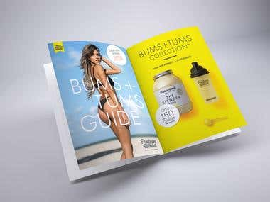 Bums & Tums brochure
