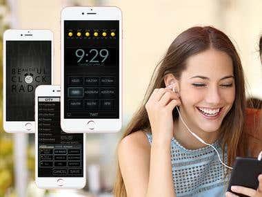 Radio Alarm app