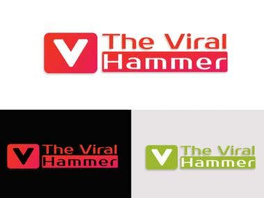 Logo- The Viral Hammer