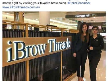 Facebook Marketing - Brow Salon
