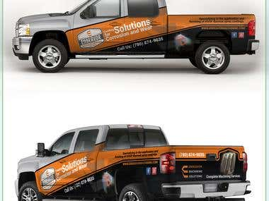 Chevrolet Silverado Wrap design