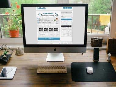Cashfreebies is a lottery type of website for couplan