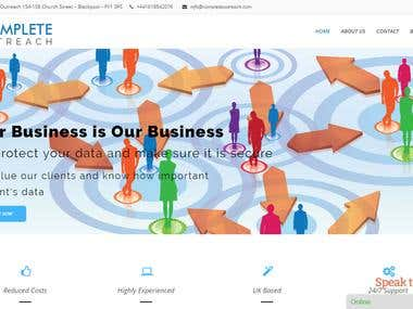 complete outreach website