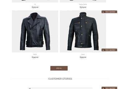 Jackets Magento