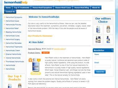Medical project Wordpress