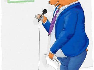 Mr Bear Speech