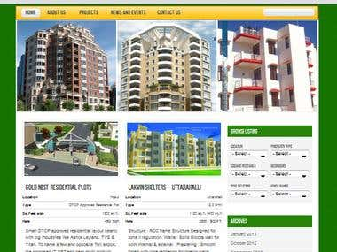 Property Wordpress Website