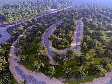 Motor Cross track