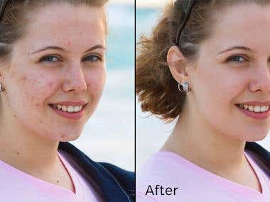 Retouching , Background removal , Enhancement , Manipulation
