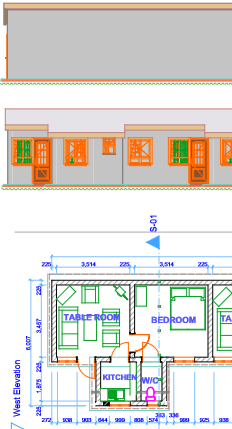 architectural drawing, construction work related