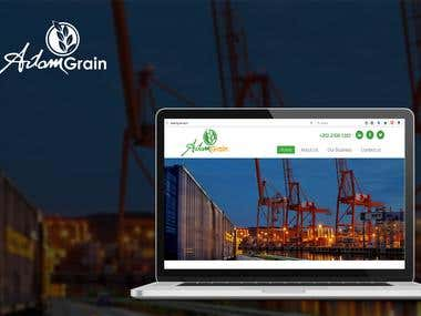 Adam Grain website