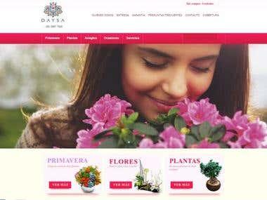 Ecommerce flores