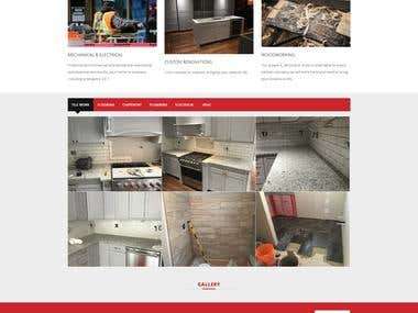 Titan Contracting Wordpresss Website