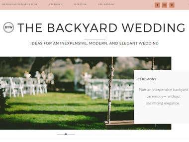 Thebackyardwedding