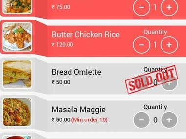 Affordable Meal Mobile Application