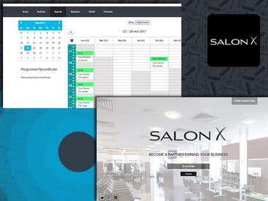 SalonX Web