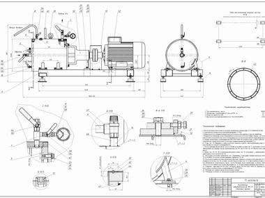 Drawing in AutoCAD mechanical