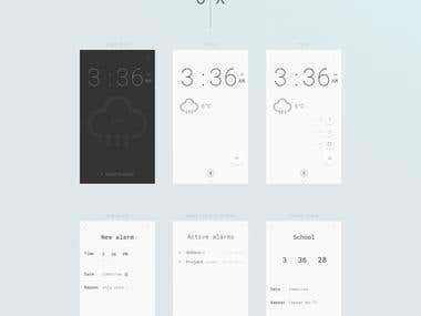 Digital Clock app