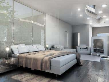 A hazy morning in Stockholms Skargardar - Bedroom