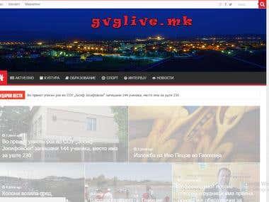 Web Site - gvglive.mk