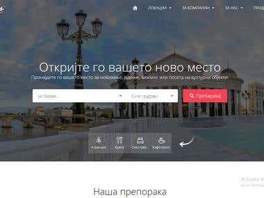 Web Site - Destinations.mk