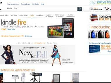 Amazon data scrapping