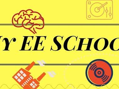 Face Book Cover design for My EE School