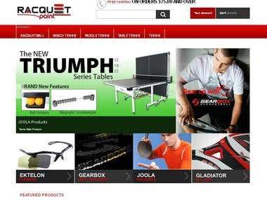 Racquet Point     www.racquetpoint.com