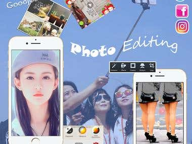 Photo edit Mobile App