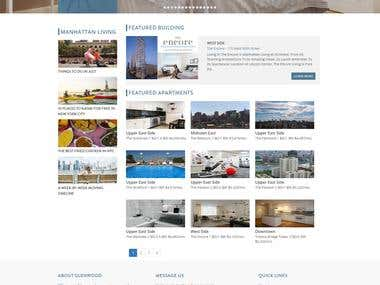 Glenwood Real Estate Wordpress Website