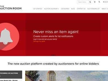 Auction aggregation platform