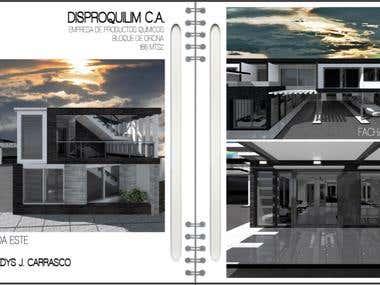 CAD Design: DISPROQUILM C.A