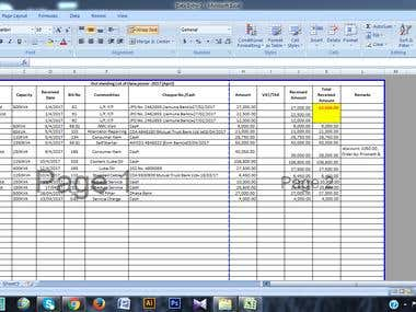 Data Entry & Spreadsheet