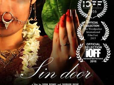 "Written and Directed a Short Film- ""Sin'door"""