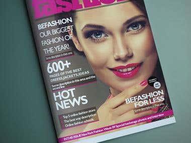 Magazine Cover photo design