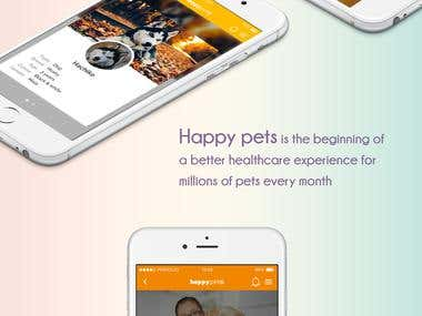 Happy pets Mobile App