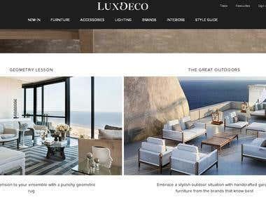 LuxDeco.com Luxury Furniture, Designer Homeware, Accessorie
