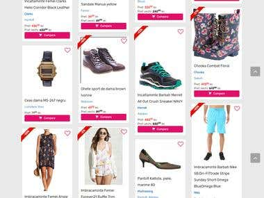 fashion ecommerce site