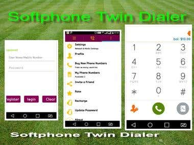 VOIP/SIP ANDROID IPHONE MOBILE DIALER
