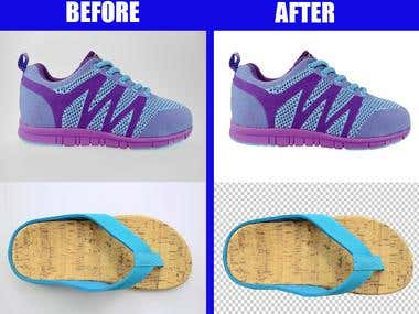 Footwear Background remove/transparent background
