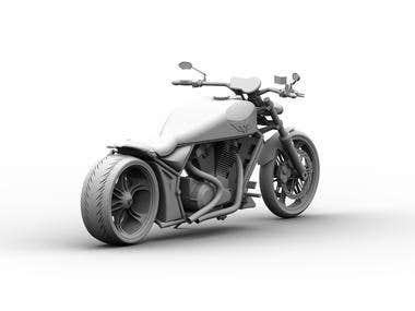 Bike SolidWorks Modeling