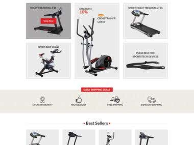 onlineshop for gyme equipment