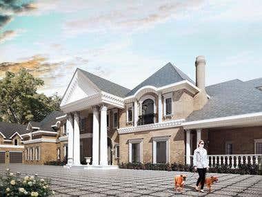 Georgian Mansion