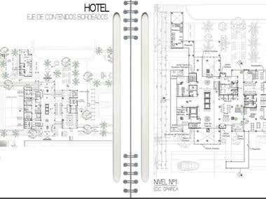 CAD Design: HOTEL