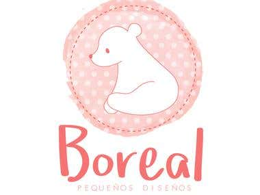 Logotipo para diseños Boreal